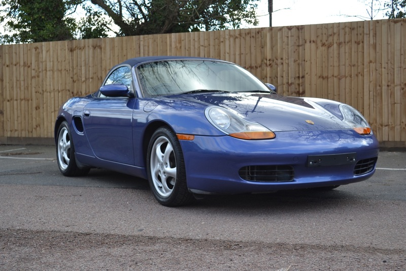 PORSCHE BOXSTER 986 38,095 miles  From new full history